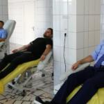 Campania de donare de sânge a ajuns la final. 75 de polițiști au salvat viața semenilor lor!